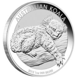 AUSTRALIAN KOALA 2012 (1OZ)
