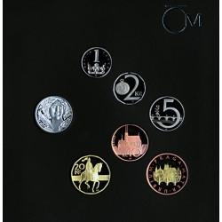 Sada obežných mincí 2011...