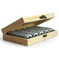 Dřevěný box + 50 ks...