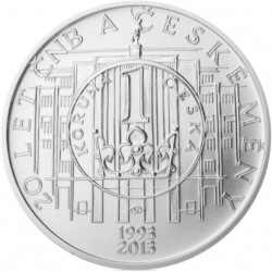 20.let ČNB a české měny (bk)